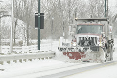 ..that name again is mr. plow (brown_theo) Tags: snow plow mrplow road simpsons reference ohio truck dump guardrail snowy