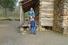 pidgeoncabine (FAIRFIELDFAMILY) Tags: jason taylor tennessee south carolina sc tenn pigeon forge gatlinburg vacation travel winnsboro fairfield county southern living farris wheel cades cove log cabin barn hat swimming pool hot tub grant carson michelle lights wood country rustic father son mother family boy young man old historic architecture rural mountain life ford vintage truck
