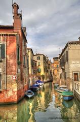 Rio de le Muneghete (Jan Kranendonk) Tags: venice venezia italy italian europe canal hdr boats ngc