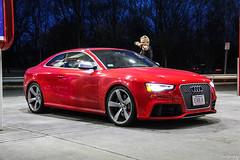2013 Audi RS5 B8 (Rivitography) Tags: evolv ma 2013 audi rs5 b8 red rare exotic fast car automobile german darien connecticut 2019 canon 60d adobe lightroom rivitography