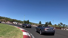 IMG_6292 (andrew edgar .......) Tags: mx5 car club zoom bathurst 30th anniversary lunch mount panorama mazda australia sunny day race track convertible nsw rsl rydges sky blue mcphillamy park scenic na nb nc nd conrod