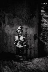 Hidden graffity (saulgoodman7777) Tags: bw bwphoto street people monochrome finland urban
