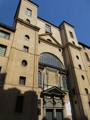 Severe facade, Chapelle de la Trinité, Lyon, France (Paul McClure DC) Tags: lyon france july2017 auvergnerhônealpes church historic architecture presquîle