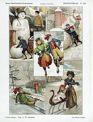 Wintervermaak (sjrankin) Tags: 23december2018 edited museum rijksmuseum art fineart historic winter seasonal rppob202977 winterscenes snowman