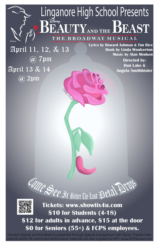139763bc14 Beauty & the Beast LHS Musical Poster PS (Shelbyr_) Tags: musical poster