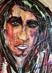 Perla negra (franck.sastre) Tags: art colors live rostro pintura painting