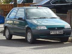 1997 Citroën Saxo 1.4i SX (Neil's classics) Tags: vehicle 1997 citroën saxo 14i sx car