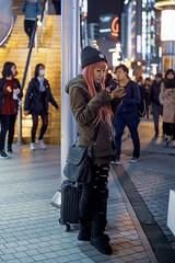 Tokyo (shinyahirata) Tags: night japan tokyo woman