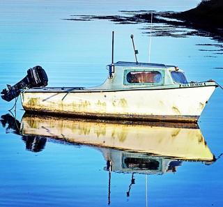 Reflection Blue