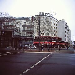 Bistrol Hotel Ku'damm Berlin 2.2.2019 (rieblinga) Tags: berlin kaminski hotel bristol luxushotel kudamm city west analog rollei 6008 fuji rdp ii e6 diafilm 222019