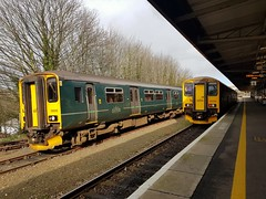150232, 150266 (Conner Nolan) Tags: 150232 150266 class150 gwr greatwesternrailway plymouth
