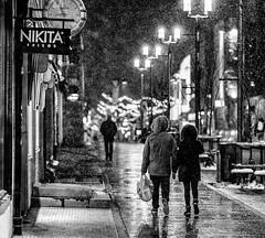 No Title (Asbjørn Anders1) Tags: winter dark street photography couple hand lights streetphotography polarnight snow tromso tromsø norway abigfave canonef85mmf12liiusm