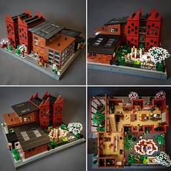 The Cloud - a pre-school MOC. Winner of Swebrick contest Master Builder of the Year 2018. (betweenbrickwalls) Tags: lego afol moc legomoc house preschool kindergarten architecture design contest