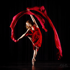 Alexa (neil.lynchehaun) Tags: andrewappleton appletonphototraining alexahilton dance ribbons red alexa ballet ballerina enpointe