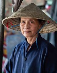 Vietnam (F Image Gallery) Tags: traditionaldress wrinkles candidshot abuela grandmother travelphotography streetphotography portrait vietnamese happyplanet asiafavorites