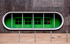 Green op de Kop van Zuid (tvdijk19) Tags: architecture architectuur netherlands zuidholland kopvanzuid rotterdam green fujixt1 urbanarte city travel stad reizen linesandpatterns structures structuur composition compositie
