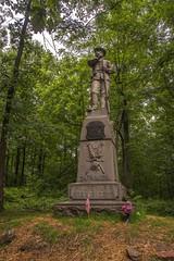 24th Michigan Monument (www78) Tags: gettysburg nationalmilitarypark pennsylvania national military park 24th michigan monument iron brigade