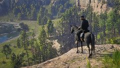 Red Dead Redemption 2 (McIovin) Tags: rdr2 rdr reddeadredemption2 reddeadredemption rockstargames arthurmorgan ps4share psblog ps4 playstation playstation4 ps4gamer photomode gamer games game gaming instagamer gamingphotography gamephotography ingamephotography rdr2online animal montanha paisagem floresta grama árvore