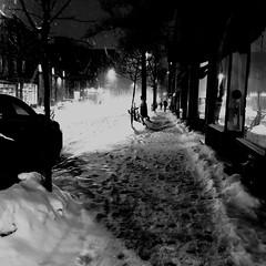 Le vélo a pris congé aujourd'hui... (woltarise) Tags: tempêtehivernale avenue vanhorne outremont montréal iphone7 streetwise