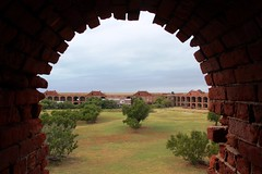 The ruins of Fort Jefferson (seventh_sense) Tags: dry tortugas national park florida keys tortuga nature abandoned deserted derelict decay fort ruins arch window brick lonely view crumbling