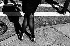 crosswalk (wilkes.snaps) Tags: d850 nyc shadow street oxfords shoes crosswalk broadway newyorkcity