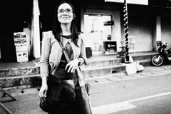 Your Smile (Meljoe San Diego) Tags: meljoesandiego fuji fujifilm x100f streetphotography street people candid monochrome philippines