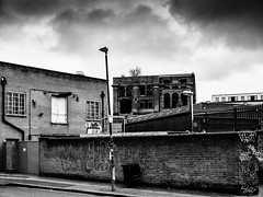 london-1-060219 (Snowpetrel Photography) Tags: bethnalgreen eastend london olympusem1 olympusm25mmf18 blackandwhite decay dereliction innercity monochrome poverty streetphotography urbanlife winter