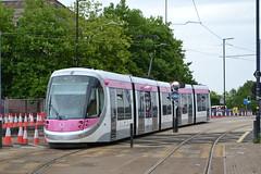 Midland Metro 33 (Will Swain) Tags: wolverhampton 20th july 2018 birmingham west midland midlands city centre tram trams light rail railway rails transport travel europe metro 33