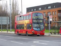 GAL WVL288 - LX59CZF - ELTHAM ROAD - SAT 16TH FEB 2019 (Bexleybus) Tags: goahead go ahead london eltham road se9 south east tfl route 321 wrightbus gemini volvo b9 wvl288 lx59czf
