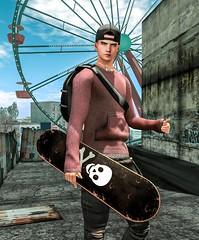 Todo bien!!! (Sebastriano) Tags: millo copperfield boy men male secondlife sl sweatshirt skater urban