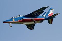 Alpha Jet E45 F-TETF 9 (spbullimore) Tags: airport cambridge 2018 lair armee force air french france epaa 20300 patrouille de dassault alpha jet e e45 ftetf 9
