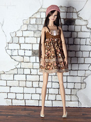 """Sweetheart collection - the """"Sweetheart"""" dress (Levitation_inc.) Tags: ooak doll handmade dolls outfit fashion fashions levitation levitationfashion sweetheart spring 2019 royalty poppy parker barbie cute romantic"""