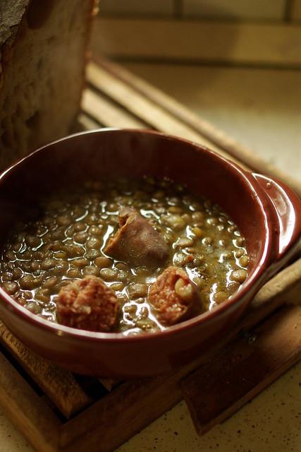 Lenticche con salsiccia (4)
