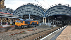 York, Where Else? (whosoever2) Tags: uk united kingdom gb great britain england nikon d7100 train railway railroad march 2019 york yorkshire station gbrf class66 66781 4n80 doncaster tyne coal freight