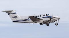Beech F90 King Air N81GC (ChrisK48) Tags: kdvt 1980 beechf90 airplane phoenixaz beechcraft aircraft n81gc dvt kingair phoenixdeervalleyairport