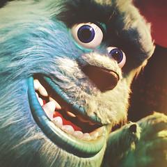day 72 (Randomographer) Tags: project365 james p sulley sullivan pixar monsters inc large furry blue monster omsi exhibition exhibit portland oregon scarer fun detail character disney movie 72 365 2019