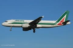 EI-DTN_A320_Alitalia_- (LV Aircraft Photography) Tags: airliner alitalia a320