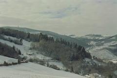 Vers l'ouest (leniners) Tags: 2018 france rhone silbersalz35 leica m6 leicam6 saintmarcelléclairé saint marcel eclaire neige snow