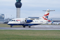 Dornier do328 Jet British Airways/Sun Air OY-NCN (nick_britnell) Tags: egcc manchesterairport avgeek planespotting sonyphotography dornier do328 do328jet britishairways sunair