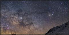 EL Gran Caballo Oscuro (Diego Rai) Tags: dark horse oscuro nebulosa nebula astrofotografía amateurastrophotogrphy astrophotography milky way vía láctea antares escorpio jupiter night sky cileo nocturna noche asturias caballo dust