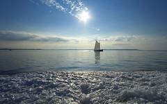 Une journée au paradis (mostodol) Tags: bretagne breizh bzh brittany morbihan traversée boat soleil sun bateau ocean atlantique atlantic water eau waterscape mer fuji fujifilm xt20 samyang polarisation paradis paradise