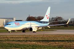 Boeing 737-8K5(WL) - D-AHFV - HAJ - 19.03.2019(3) (Matthias Schichta) Tags: haj hannoverlangenhagen eddv planespotting flugzeugbilder tuifly boeing b737800 dahfv