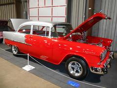 1955 Chevy 210 (splattergraphics) Tags: 1955 chevy 210 chevy210 customcar carshow eastcoastindoornationals marylandstatefairgrounds timoniummd