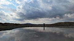 Mud volcanos of Gobustan (LeelooDallas) Tags: asia europe azerbaijan gobustann petroglyph landscape desert dana iwachow dragoman overland silk road trip september 2018 rock mud volcano steve
