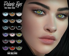 <Nar> Polaris Eyes (out now!) (Jade Glazner / Nar Mattaru) Tags: eyes sl secondlife narmattaru deetalez genus omega mesh applier hud new mainstore