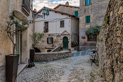 Casperia, Central Italy (Claudio_R_1973) Tags: village medieval detail corner square street road old antique vintage architecture sabina centralitaly casperia italia italy rural fx d800 outdoor afteroon