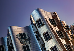 _MG_6808 - Gehry-Bauten №1 (AlexDROP) Tags: 2015 dusseldorf germany deutschland travel color abstract building city urban architecture canon6d ef241054lis best iconic famous mustsee picturesque postcard circpl