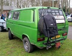 D961 STT (1) (Nivek.Old.Gold) Tags: 1987 volkswagen transporter syncro t3 4wd 1588cc diesel