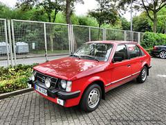 Opel Kadett D, 1984 (linie305) Tags: bochum ruhrgebiet ruhrpott ruhrarea liermann classic day liermannclassicday2018 auto automobil meeting show carshow oldtimer classiccar oldcar youngtimer german opel kadett kadettd 1984