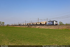 Oriental seeds... (Marco Stellini) Tags: rail traction company rtc lokomotion zebra vectron siemens 193 pavia certosa